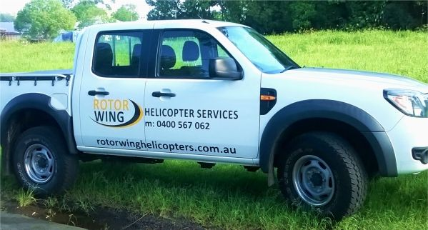Commercial ute signs